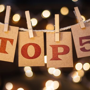 Top 5 blog posts for 2016